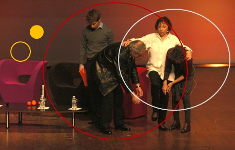 illustration des situations managériales, comportement manager par le théâtre en entreprise, coaching manager Angers, formation prise de parole en public Angers