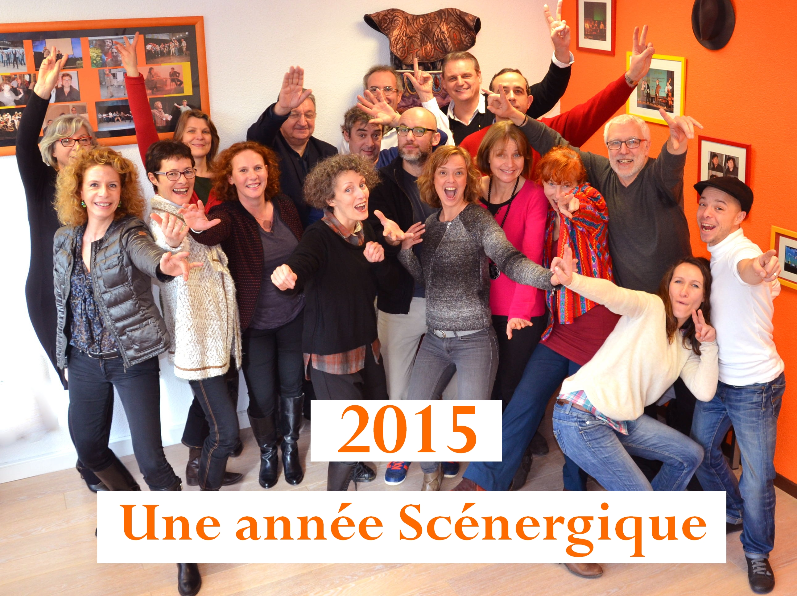 voeux 2015 - groupe
