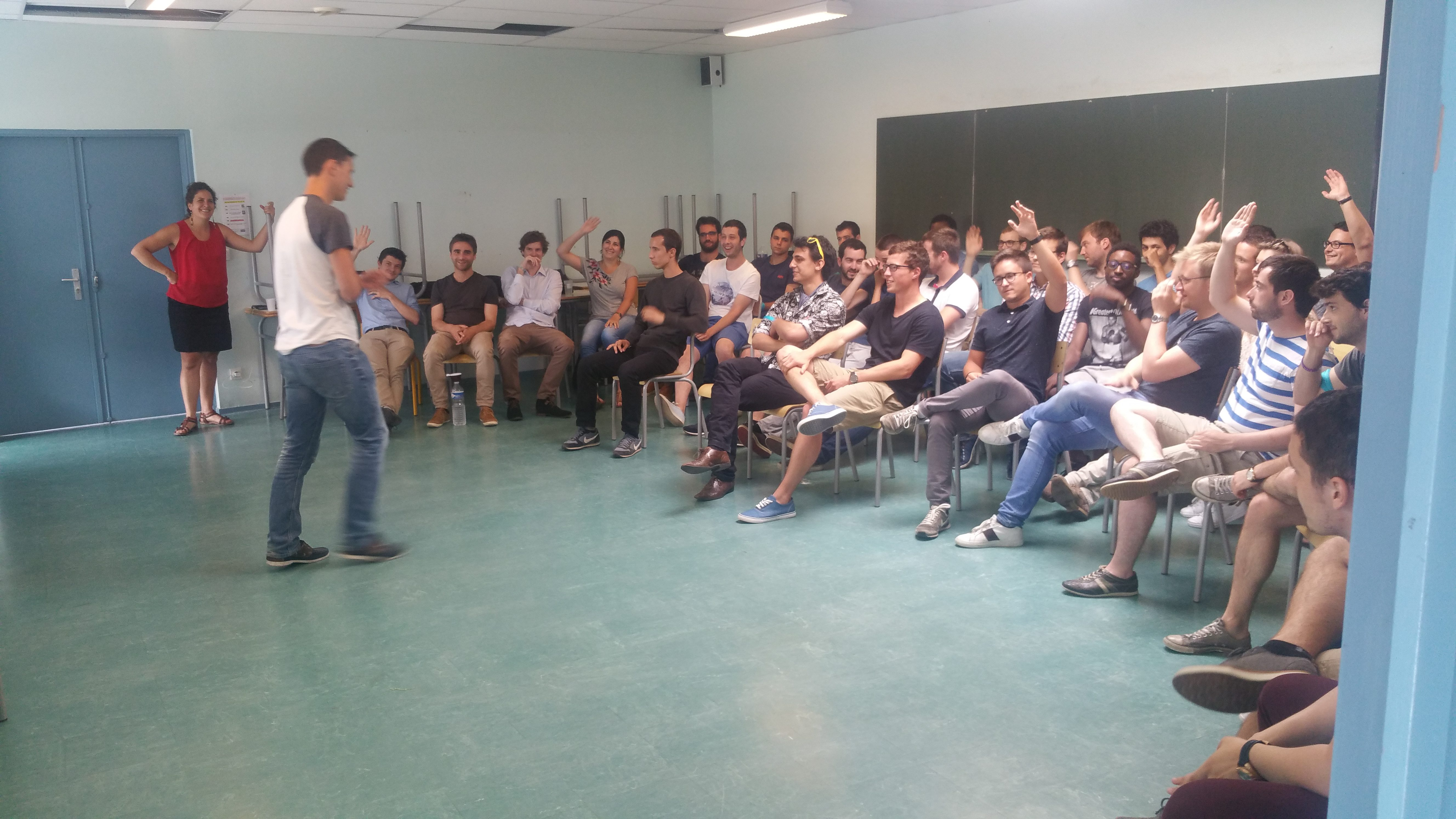Esprit d'équipe - intelligence collective - Cohésion - Intégration - Grand oral - Grandes écoles